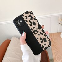 Ranipobo Leopard Print Phone Case For iphone 13 12 11 X XR XS Max Soft Back Cover Shockproof Fashion Cover For iphone 13 12 7 8 7Plus