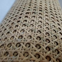 15M Roll 40CM 45CM 50CM Wide Natural Indonesian Real Rattan Wicker Cane Webbing Furniture Chair Table Repair Door Decor Material