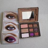 1 unids Peanut Mantequilla y jalea Naughty NUSUSE 9 COLORES Eyeshadow Shimmer Matte Eye Shadow Paleta