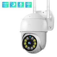 Cameras Wifi IP Camera Outdoor 1080P HD Home Security Motion Detection Color Night Vision Digital Zoom PTZ Cloud Surveillance Cam