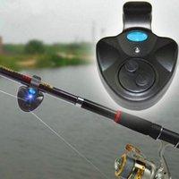 Canna da pesca elettronica tamponata Intelligente Identificazione Intelligente Morso Amo Hook Reminder Battery Bande per barca