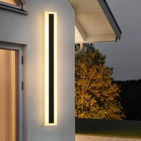 Wall Lamps Led Simple Outdoor Lamp Lights Waterproof IP65 Sconce Lone Strip Garden Decoration Bathroom Mirror Light