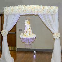 Wedding Hanging Acrilico Clear Cake Stand Fantasy Matrimoni e arredamento Lampadari torta nuziale