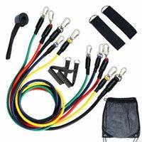 Paniek kopen! Weerstandsbanden Set 1Panic 11 stks voor fysiotherapie, weerstandstraining, Home Worko Yoga Stripes
