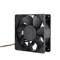 5.0A Miner Cooling Fan For Antminer Bitmain S7 S9 4-Pin Connector Brushless Replacement Cooler Low Noise Fans & Coolings