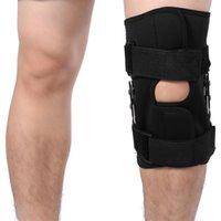 Cotovelo joelheira almofada ajustável almofada patella brace protetor artrite perna articulação articulada joelheira manga de compressão buraco