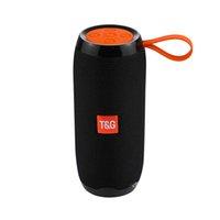 TG106 Mini Haut-Parleur Bluetooth HIFI STEREO STEREO PROTABLE SOUNDOX SOUS-BOOFRES DE SOUS -WOFTES DE SOIGNEUR DE SANGAUX MP3 MP3 USB FM VS TG116 TG117