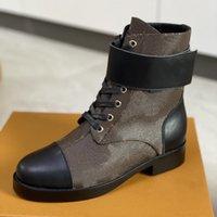 Star Trail Stivaletti Boot Donne Designer Martin Desert Boots 100% Pelle vera pelle antiscivolo Scarpe invernali Vintage Jacquard Textile Stivaletti classici Chelsea