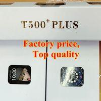 T500 PLUS 44 мм Smart Watch Break Break Smart 2021 Full Touch Screen SmartWatch Сердца Способы Монитор Спин Наручные Часы PK IWO 12 W26 Браслет Спорт Мужчины ...