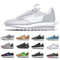 nike sacai Beyaz Naylon Çam Yeşil Gusto Güvercin NYC Güvercin X LDV Waffle Daybreak Eğitmenler Erkek Koşu Ayakkabı Koşu Kadınlar erkekler Spor Sneakers 36-45