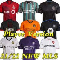 MLS 21/22 Spielerversion Fussball Jerseys La Galaxy 2021 2022 Atlanta Sporting City Inter Miami Portland Dynamo Football Shirts Uniformen