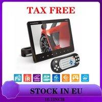 10.1 Inches External Car Headrest DVD Player Rear Seat Screen Monitor DVD VCD USB SD HDMI IR FM SH1018DVD Video
