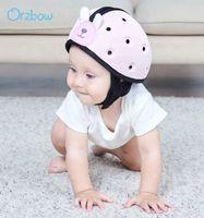 Orzbow 홈 헤드 보호 아기 안전 울트라 라이트 헬멧 어린이는 유아 키즈를위한 보호자 모자를 걷는 법을 배웁니다.