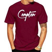 Erkek T-Shirt Tasarım Desen Ünlü 2021 Yaz Artı Boyutu Tasarım Şehir Compton Bombon Ekip Boyun Kısa Kollu Erkek T Gömlek