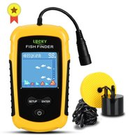 FFC1108-1 Alarm 100m Tragbare Sonar Fish Finders Fishing Lure Sounder Finder See Meer
