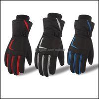 Ski Beschermende Gear Sneeuw Outdoorski Handschoenen Unisex Touchscreen Winter Thermische Warme Fiets Fiets Bike Outdoor Cam Wandelen Motorfor