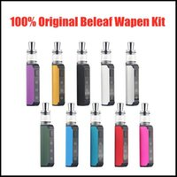 O original Wapen Wax Kit Dabbing V2 Vape Pens Vaporizador Cerâmica Bobina Atomizador BELEF 500MAH PRETOAT VV VV Variável Variável Dabber Battery Starter