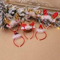 Kabarık Boyunca Çan Bandı Elk Saç Bandı Noel Süslemeleri Çocuk Parti Giydir Yukarı Xmas Dekorasyon