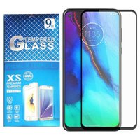 Black Screen Protector Tempered Glass For Moto G Stylus 5G 2021 Power Play E7 Fast Boost Metro LG Stylo 7 K51 K31 Aristo 5 K92 with retail package
