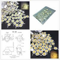 Light Beads 10Pcs Real Full 3W WaHigh Power LED Lamp 220-240LM CREE SMD Chip LEDs Diodes Bulb For - 18W Spot Downlight