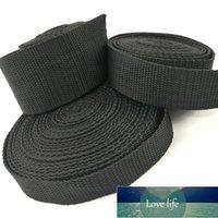 Noir PP Sweetbing Ruban de sangle pour sac d'emballage HEVAY DUTTRAY POLY Schling pour la réparation d'engrenages de bricolage en plein air Courroie de sécurité 2m²