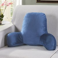 37 sofá almofada de volta cama de travesseiro pelúcia grande encosto lendo descanso descanso almofada lombar cadeira almofada com braços home deco9 346 R2