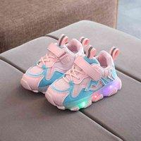 2021 İlkbahar Sonbahar Yeni Çocuk Nefes Spor Kızın Bebek Yumuşak Taban Toddler Bekar Erkek ve Bayan Ayakkabıları