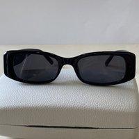 Rettangolo di lusso Donne Occhiali da sole Fashion Womens Brand Deisnger Full frame UV400 Lente Stile Estate Big Square Top Quality Vieni con custodia 0096
