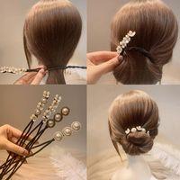 Hair Accessories MISANANRYNE Magic Pearl Hairpin DIY Braiding Lazy Braider Tool Clips For Women Headband Styling