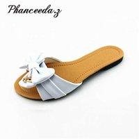 Sandalias de recorte de moda Sandalias abiertas Toe Bajas Bohemio Zapatos de verano Tamaño de la playa 4-8 210619