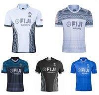 Fidji Accueil Rugby Jersey Sevens Shirt olympique Thaïlande Qualité 19 20 21 Fidji Jersey National 7's Rugby S-3XL.