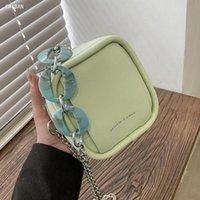 Cross Body Mini Lip Cute Bags Waist Bag 2021 Fashion High Quality Leather Women's Designer Handbag Chain Crossbody