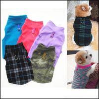 Supplies Home & Gardenpet T Christmas Plaid Warm Polar Fleece Puppy Shirts Small Dog Clothes Autumn Winter Pet Apparel Xs-3Xl Bh4426 Tqq Dro