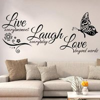 25# Diy Family Home Wall Sticker Removable Mural Decals Art Room Decor Stickers Living Letters Words