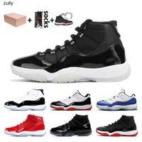 ManbasketBallShoes Shoes Basketball Hommes Haute Coupe 11 Velours Heirress Rouge Bleu Blue Basketball Basketball Chaussures Hommes Spaces Confitures 11S XI