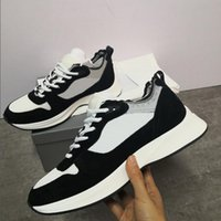 Esecuzione di Designer Designer Brand B25 Trainer Espadrilles Casual Shoes Racer for Sneakers Flats Genuine Pelle Uomo Luxury IVBCP