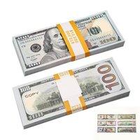Film Prop Banknota ABD 20 50 100 Dolar ve Euro Kağıt Baskılı Para Oyuncaklar Çocuklar için Noel Hediyeleri Video Filmi