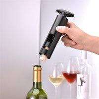 Apribottiglie manuale del vino Strumento della cucina Sparkling Wine Simple Opener Seahorse Coltello Black Bottle Cavatappi Apri tappi 210903