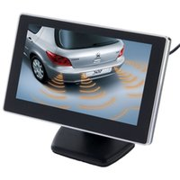 wtyd for cameras 43 inch Car Rearview LCD Monitor with Stand 2 Channels AV Input