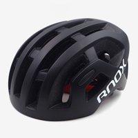 RNOX Ultralight Herren Radfahren Helm Octal Black MTB Mountain Road Fahrrad Für Frauen Erwachsene 55-61cm Rennradausrüstung