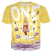 Herren T-shirts Japan Anime Funny T-Shirt Ein Schlagmann Saitama Sensei T-Shirt Übergroßen 3D-Druck Sommer Lässig Für Männer Frauen T-Stück