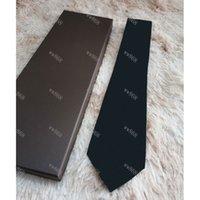 Mens Krawatten Marke Mann Mode Brief Krawatten Hombre Gravata Slim Krawatte Klassische Business-Hochzeits-Party-Bankett Casual Red Tie für Männer L6603