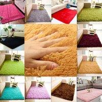 Carpets 80*120CM Fluffy Rugs Anti-Skid Shaggy Area Rug Dining Living Room Bedroom Home Soft Carpet Floor Mat Decoration Decors