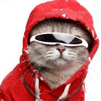 Pet Windproof Goggles Dog Apparel Fashion Reflective Cat Dogs Sungless Indoor Outdoor Trendy Pets Decoration Sunglesses