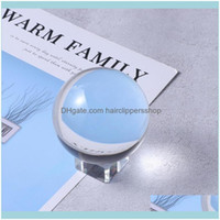 Novelty Items & Garden Home Décor Crystal Display Glass Ornament For Decoration Transparent Base And Red Gift Box Drop Delivery 2021 Q4Zaf