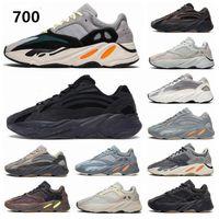 2021 남자 유틸리티 블랙 정적 700 Vanta 여성 망 운동화 패션 오렌지 주자 Kanye 700 Azael Azareth Blue Oat Trainers Sneakers
