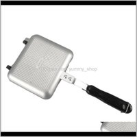 Pans Cookware Kitchen, Dining Bar Home & Gardendouble-Side Non-Stick Toast Sandwich Maker Waffle Pancake Baking Barbecue Grill Frying Bread