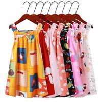 kids clothes girls suspender dress Vacation beach children Sling floral print princess Dresses fashion summer Boutique baby Clothing Z3427