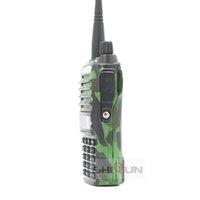 Original Dual PTT Baofeng UV-82 8W 10 KM Walkie Talkie Black Camo Handy Amateur Radio uv-5r UV-9R Plus hunting uv82