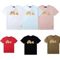2021 Homens Camisetas Mulheres Verão Moda Mens camisetas Coração Outdoor Streetwear Top Tees Hip Hop Mens Roupas